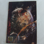 Star Wars Galaxy 1993 Topps #51 A huge space battle Trading card